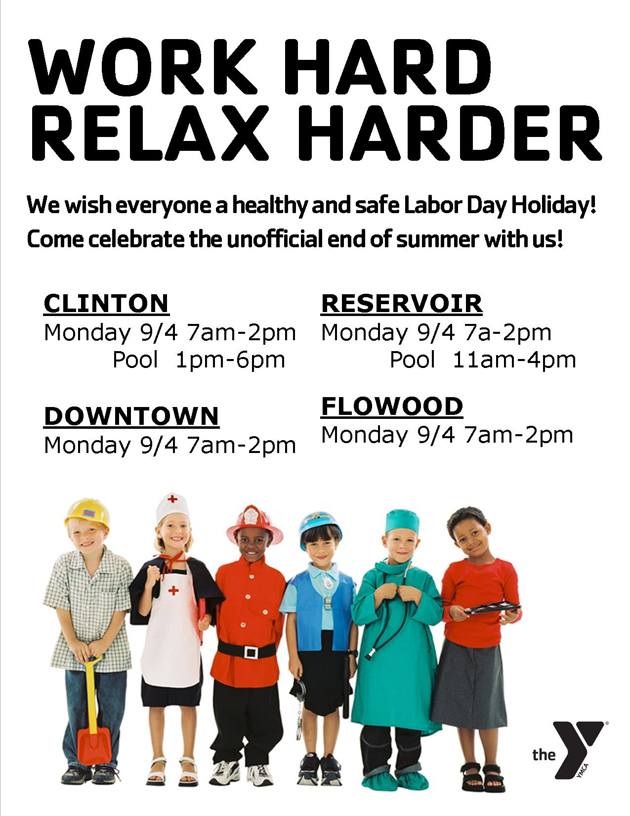 Labor day Hours 2017
